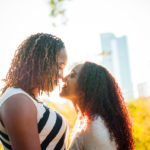 Two girls in love in Atlanta