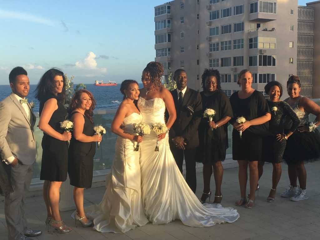Getting married at the W Hotel Ft. Lauderdale
